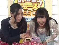 松茸に見立てたおチンポをフェラで味わい口内射精をさせる女子アナ